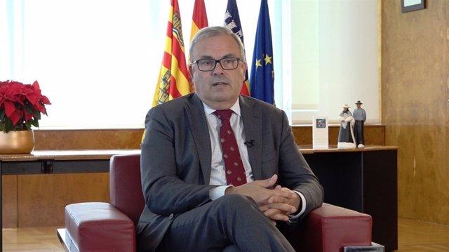 El presidente del Consell de Ibiza, Vicent Torres