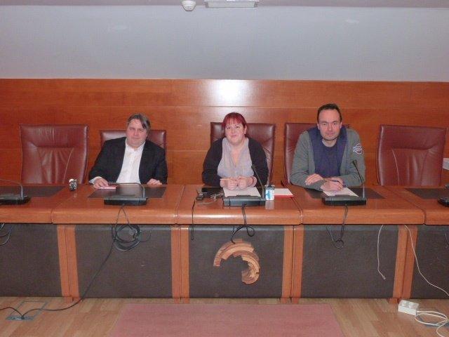 Alberto Bolado, Verónica Ordóñez y José Ramón Blanco