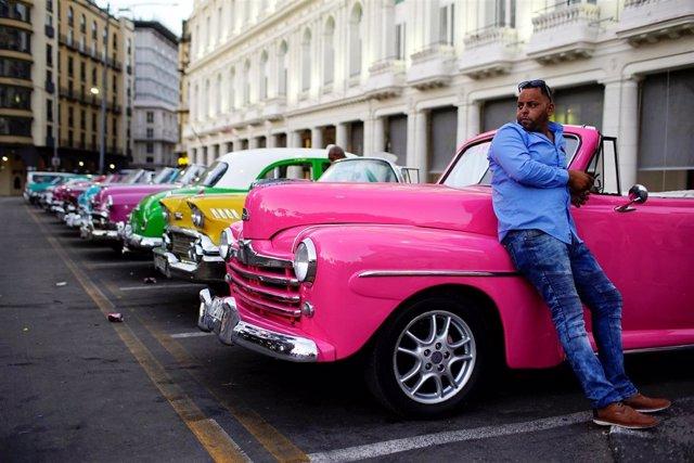 Coches antiguos en La Habana