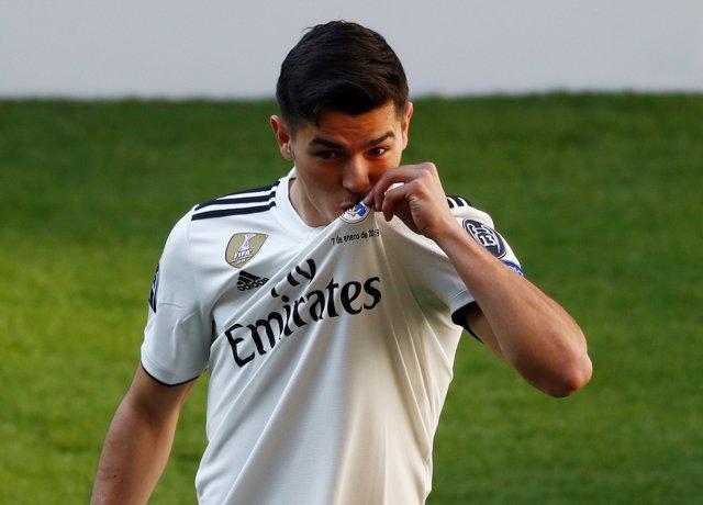 Real Madrid Brahim Díaz presentación