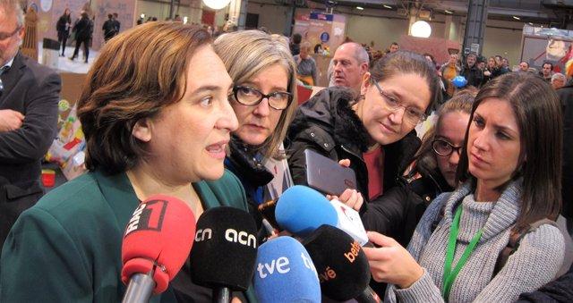 L'alcaldessa de Barcelona Ada Colau. Foto d'arxiu