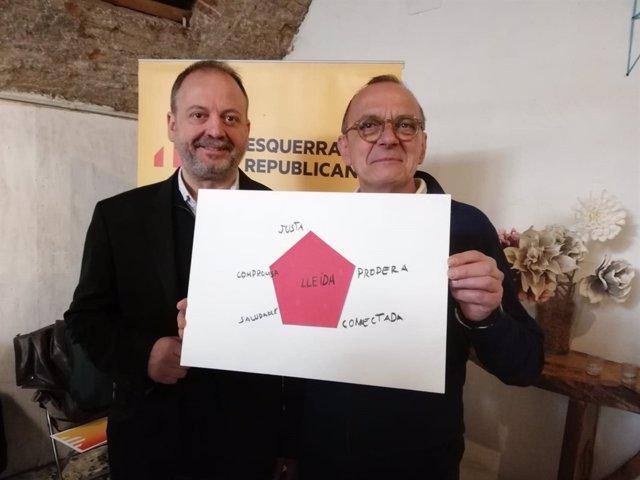 Carles Vega y Miquel Pueyo.