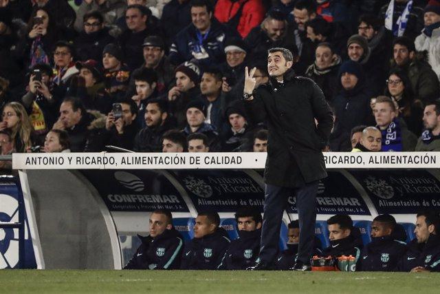 Spain Primera Division - Getafe vs FC Barcelona