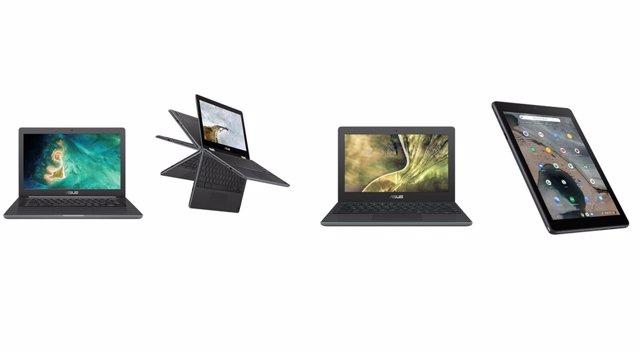 Chromebook C204, Flip C214, C403 i CT100
