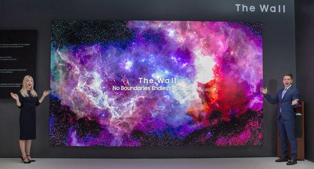 Samsung introdueix la tecnologia MicroLed en les seves pantalles