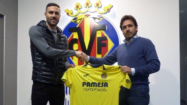 El nuevo jugador del Villarreal CF, Vicente Iborra