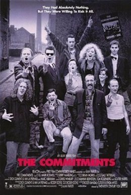Cartel película  The Commitments