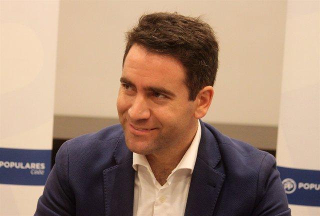 Teodoro García Egea, secretari general del PP a Cadis