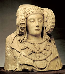 Dama de Elche, imagen de archivo