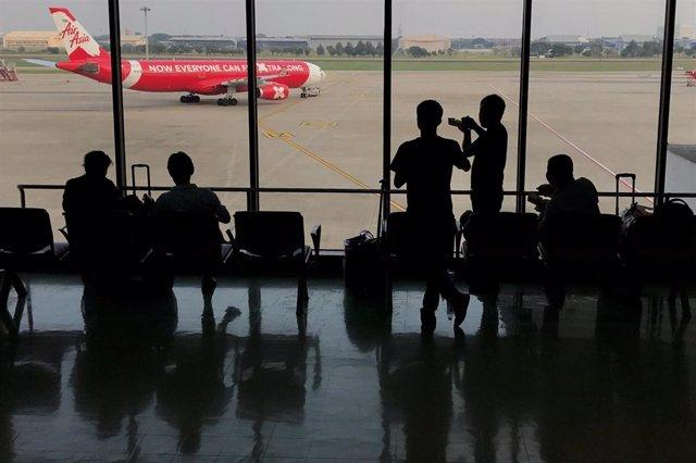 Aeropuerto Internacional Don Mueang, en Tailandia.
