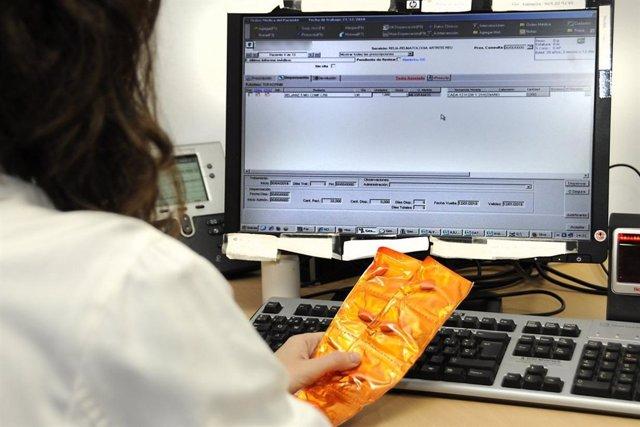 Prescripción electrónica en los hospitales del Sescam