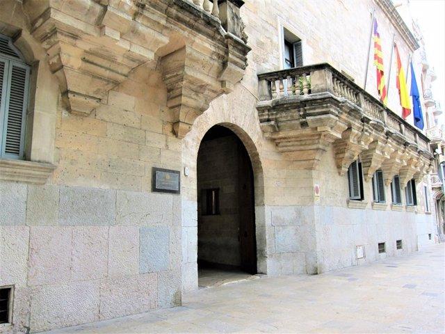 Façana de l'Audiència Provincial de Balears