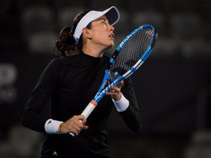 Muguruza abandona el torneo de Sídney por enfermedad