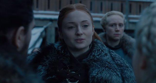 Sansa Stark en 8ª temporada de Juego de Tronos