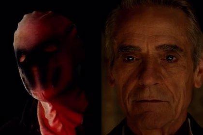 Watchmen: Primer vistazo a Rorschach y al Ozymandias de Jeremy Irons