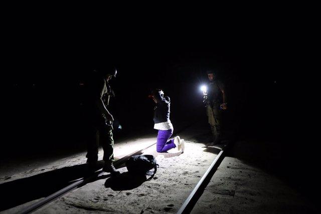 Detencion de un 'coyote' por tráfico de migrantes