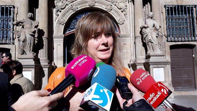 Ana Ollo, consejera de Relaciones Ciudadanas e Institucionales
