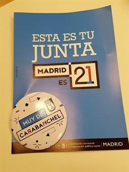 Campaña para dar a conocer las Juntas de distrito de Madrid