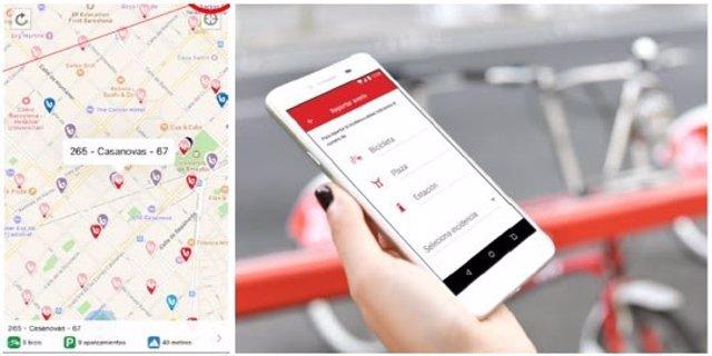 L'app del nou Bicing
