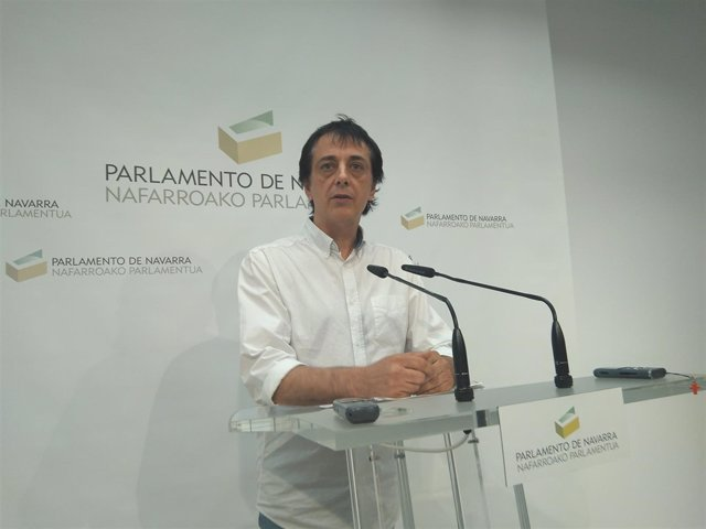 Carlos Couso, parlamentario de Orain Bai.