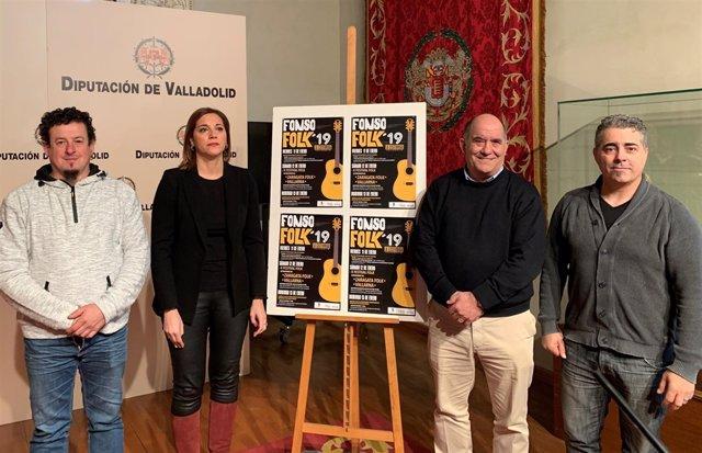 Vallaodlid.- Clavel, Toledano, Suárez y Lévid hoy en presentación 'FonsoFolk'