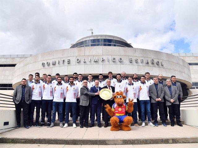 Recepción a los Hispanos en el Comité Olímpico Español (COE)