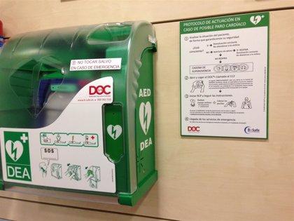 Los desfibriladores DOC han salvado más de una decena de vidas en 2018