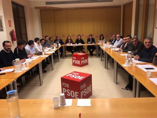 Reunión de una Ejecutiva del PSOE (imagen de archivo)