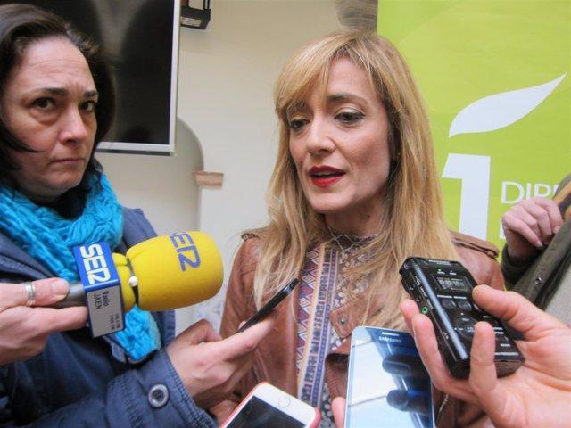 Carmen Castilla en sus declaraciones a los medios