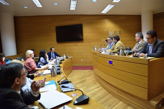 Imagen de archivo de la Comisión de financiación de PSPV y Bloc