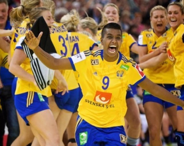 Louise 'Loui' Sand balonmano internacional Suecia