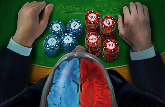 Apuestas, riesgo, cerebro