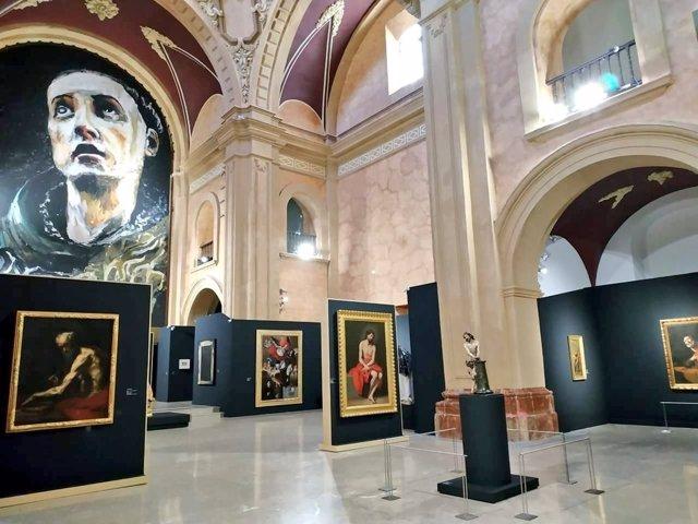 Imagen de la exposición 'Místicos' de Caravaca