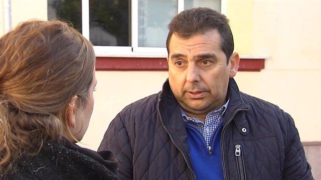 El alcalde de Casariche (Sevilla), Basilio Carrión (PSOE)