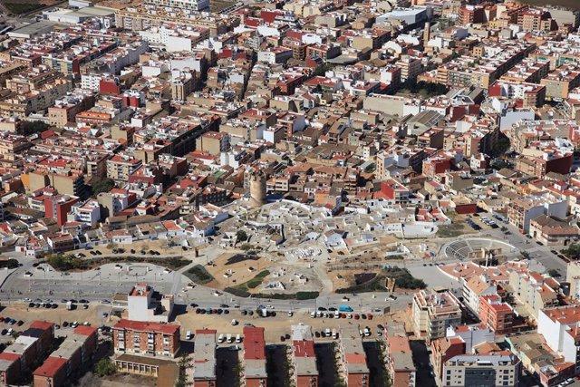 Vista aérea de Paterna
