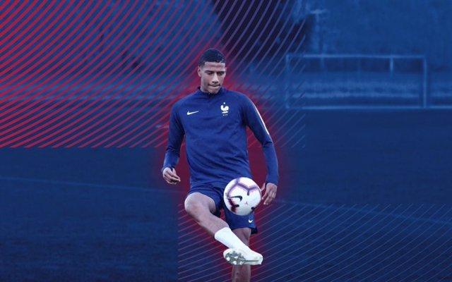 El nuevo jugador del FC Barcelona Jean-Clair Todibo