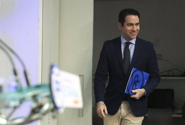 Secretario general del PP, Teodoro García Egea