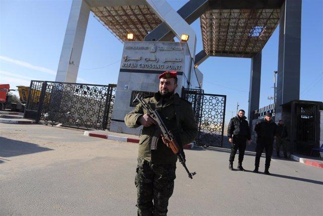 El paso fronteriza de Rafá