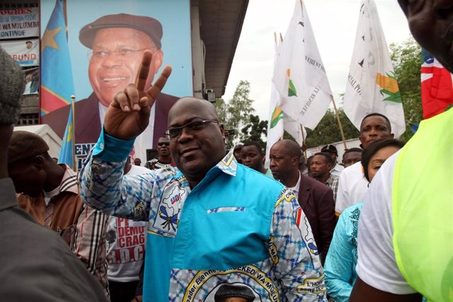 El opositor congoleño Felix Tshisekedi