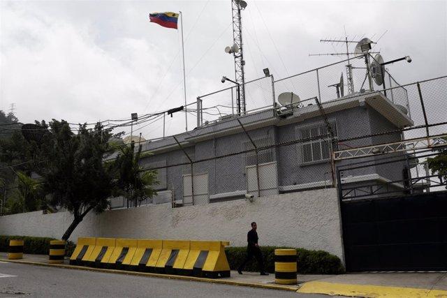 Sede de Globovisión en Caracas