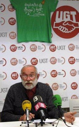 L'exdirector del IES Marratxí, Jaume March