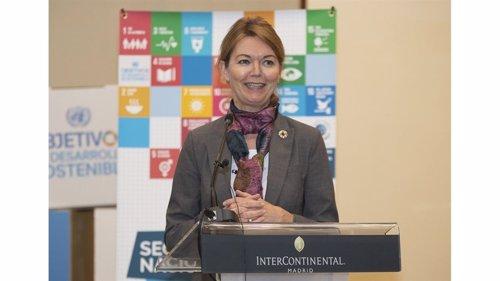 Lise Kingo, CEO y Directora Ejecutiva del Pacto Mundial de las Naciones Unidas