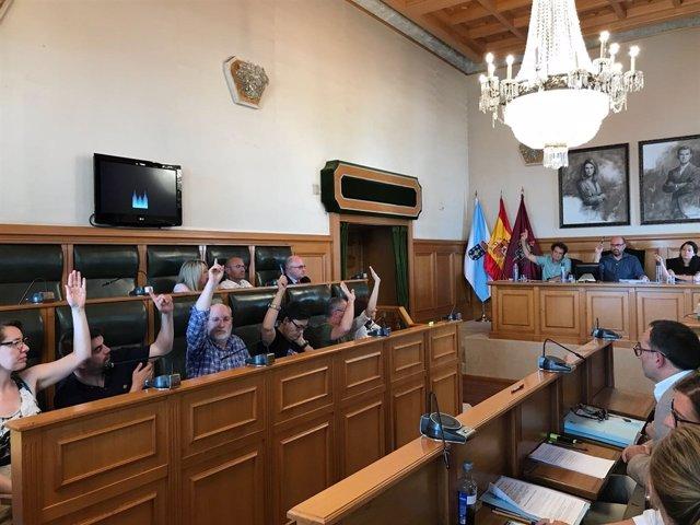 Pleno municipal de Santiago de Compostela