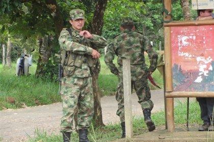Secuestrado un soldado colombiano en la frontera con Venezuela