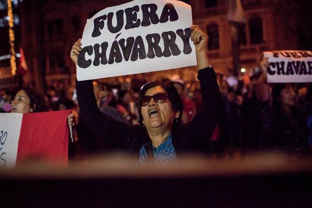Demonstrations demand resignation of Attorney General in Peru
