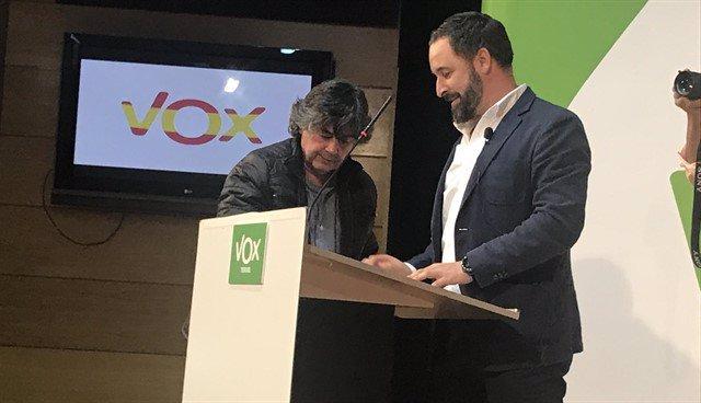 Santiago Abascal, líder nacional de Vox.