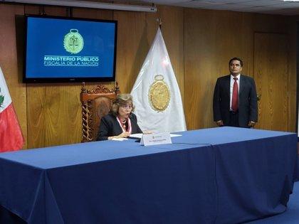 La nueva fiscal general de Perú estudia declarar en emergencia el Ministerio Público
