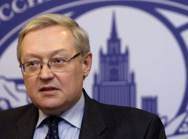 El ministro de Exteriores de Rusia, Sergei Ryabkov