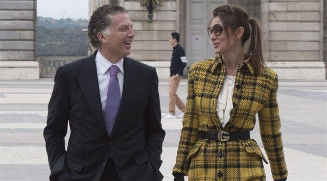 MAR FLORES Y ELÍAS SACAL EN FOTO DE ARCHIVO DE EUROPA PRESS