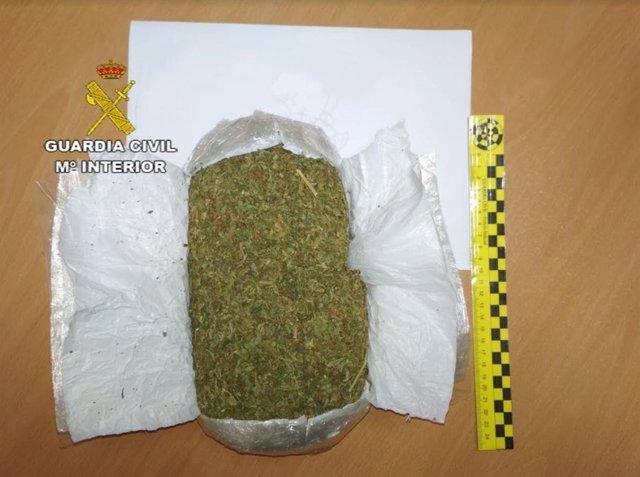 Marihuana prensada